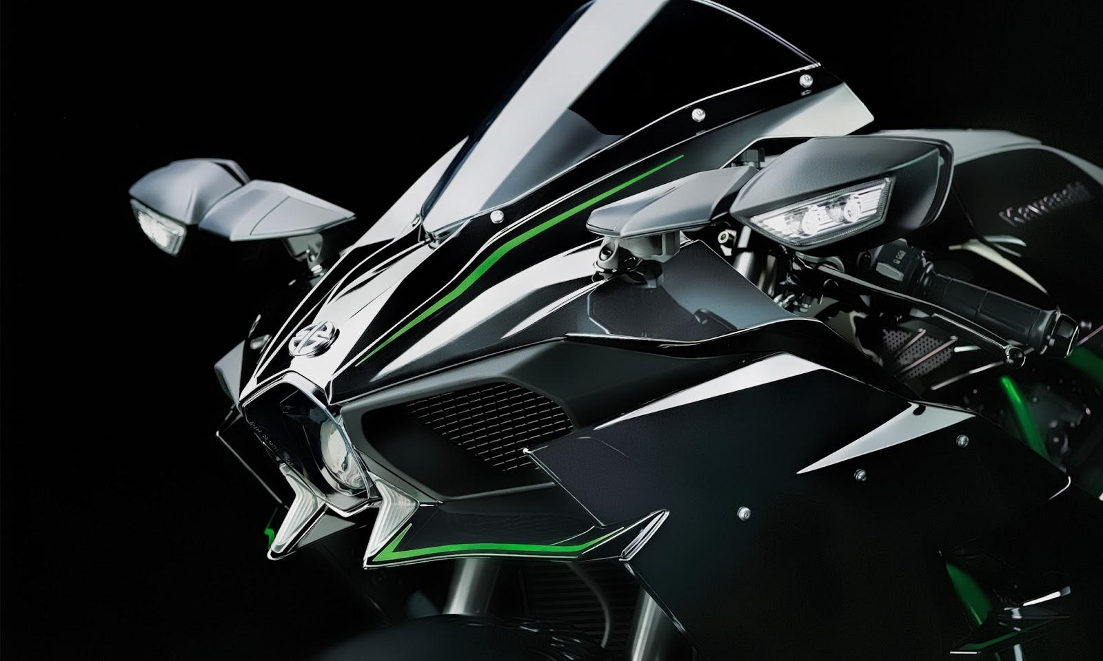 Kawasaki Ninja H2R HD Wallpapers