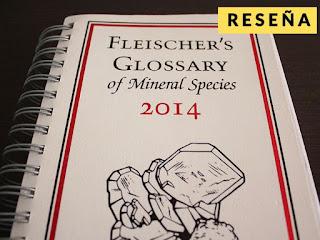 Reseña: Glosario de especies minerales de fleischer's