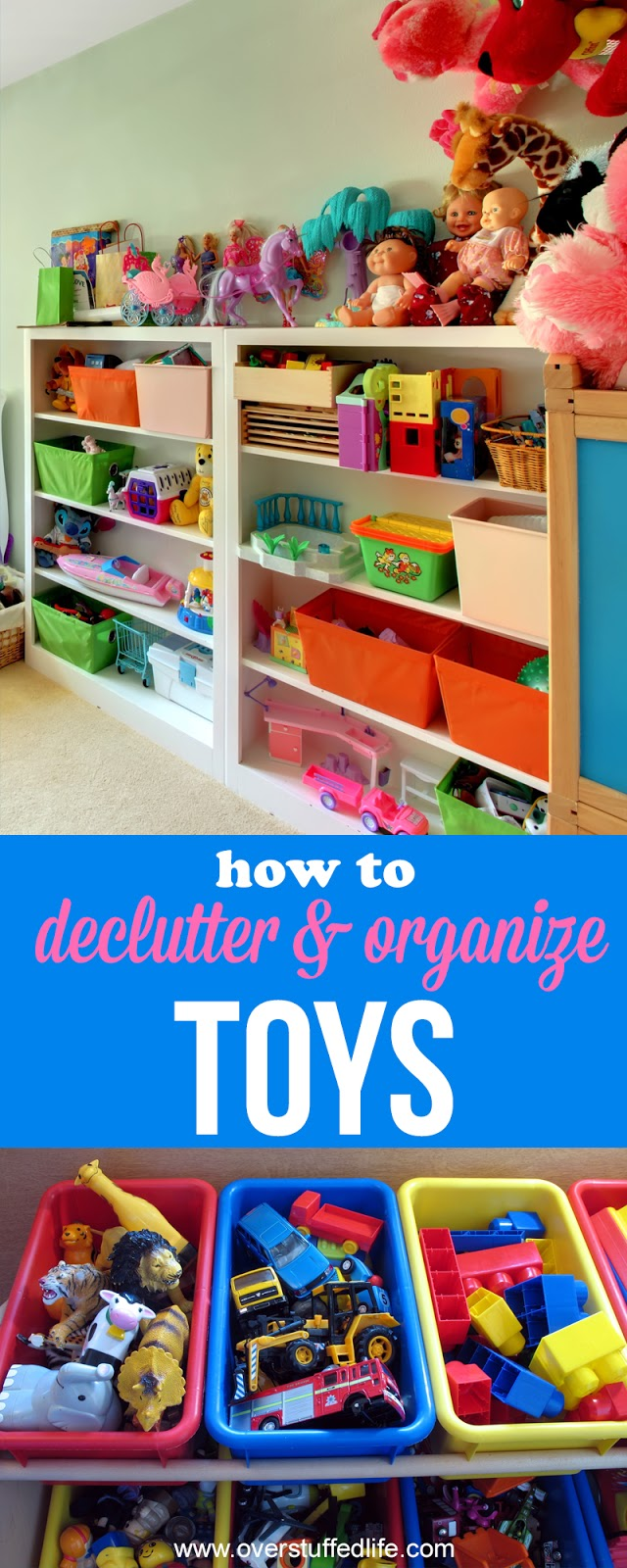 Toy Organization | Organize Play Room | Toy Storage Ideas| Organize American  Girl Doll Clothes