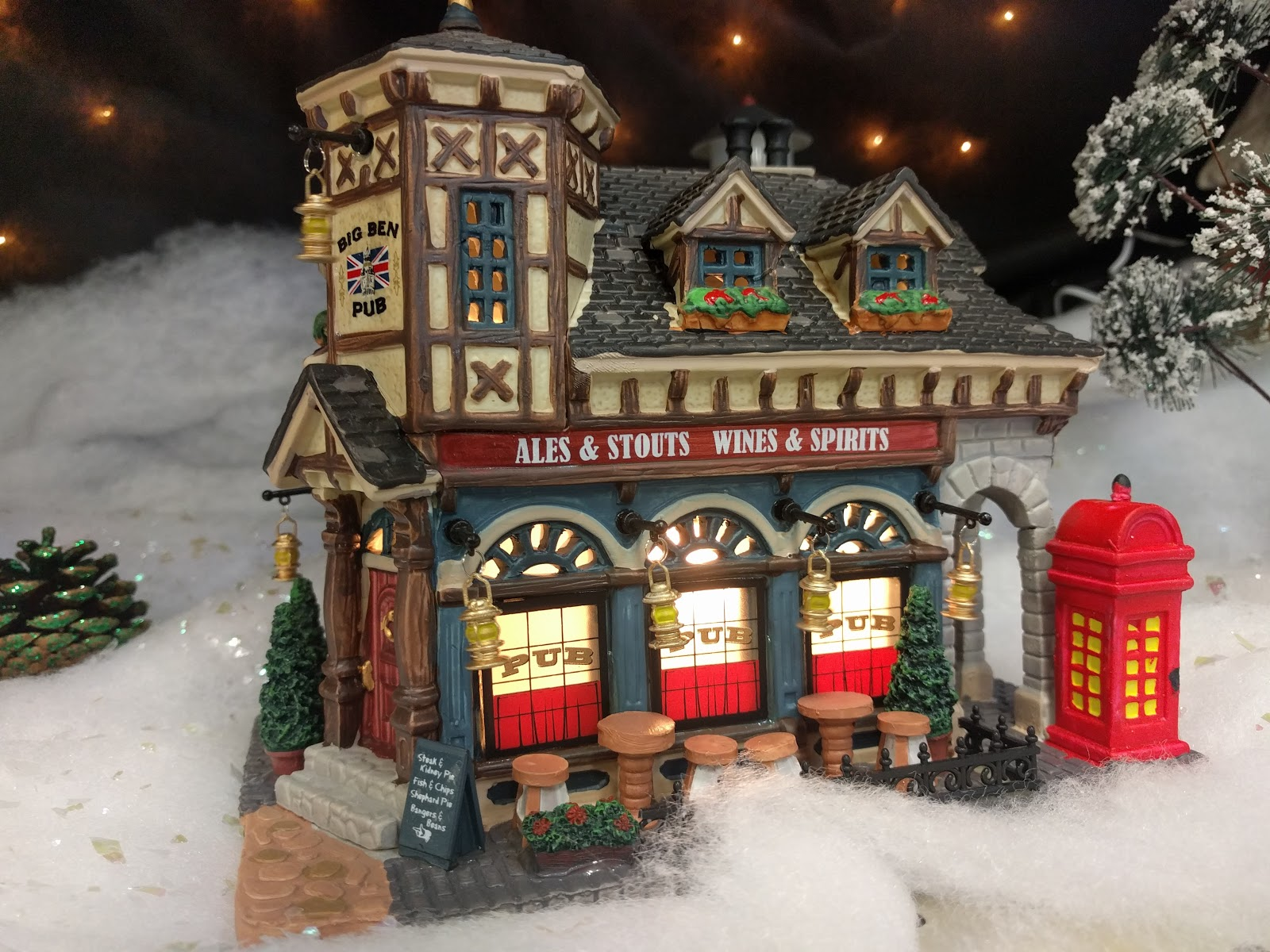 Big Ben Pub - 2012 Christmas Village from Lemax