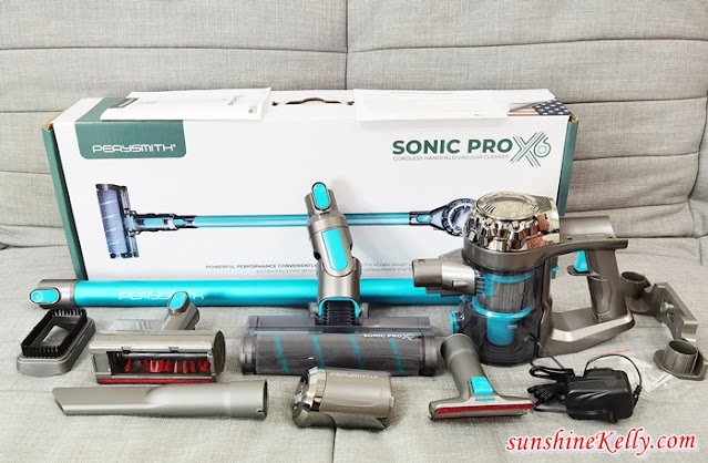 PerySmith Cordless Vacuum Cleaner Sonic Pro X6 Review, PerySmith, Household Appliances, Home Appliances, Vacuum Cleaner Review, Lifestyle