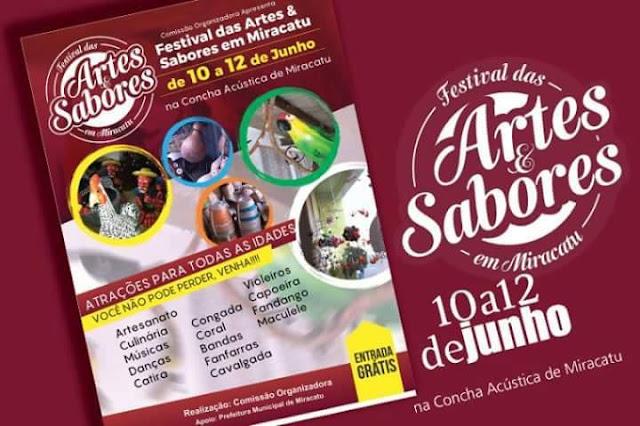 Festival acontece nesse final de semana em Miracatu
