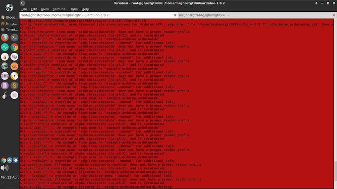 Fix error saat install Arduino IDE di GNU/Linux