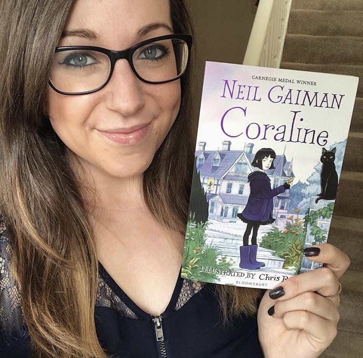 Johann S Library Book Review Coraline By Neil Gaiman