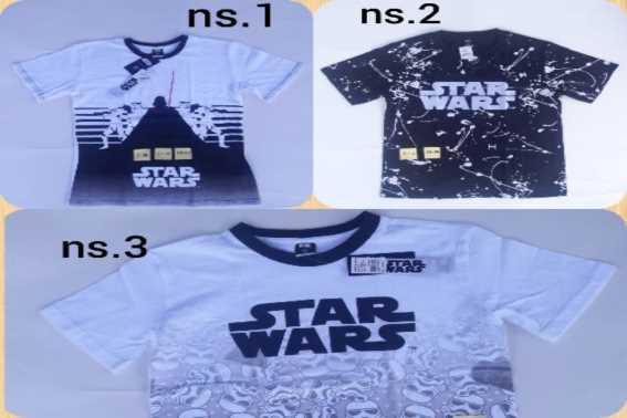 Rekomendasi Produk Kaos Star Wars Anak