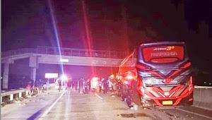 Lakalantas Tol Solo-Kertosono, satu orang tewas