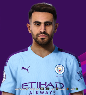 PES 2020 Faces Riyad Mahrez by So PES
