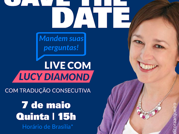 Live exclusiva com Lucy Diamond