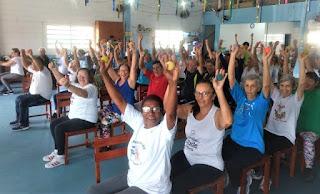 Atividades físicas, música, passeios e arte fazem parte do dia a dia dos integrantes do CCMI