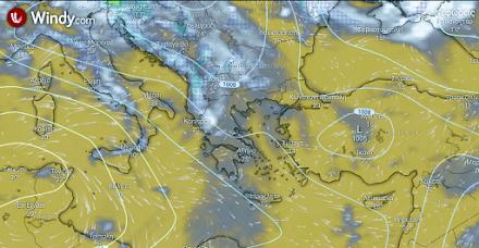 Λίγες τοπικές βροχές στα ορεινά της δυτικής Μακεδονίας - Ηλιοφάνεια στην υπόλοιπη χώρα