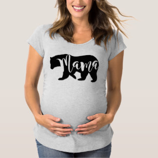 Maternity T-Shirts for Mother's Day - Mama Bear Maternity T-Shirt