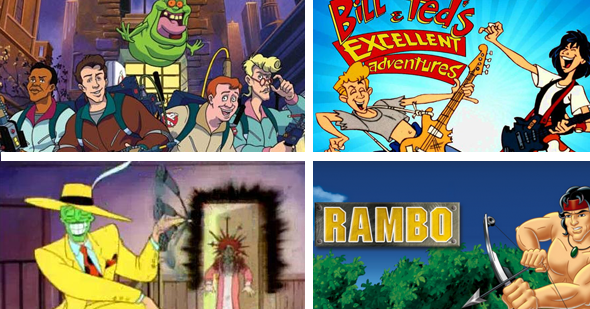 10 Animated Tv Series Based On Movies - Afa Animation For -1201