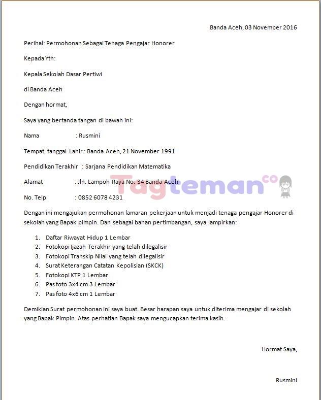 Format Surat Lamaran Kerja Download Gumus Northeastfitness Co