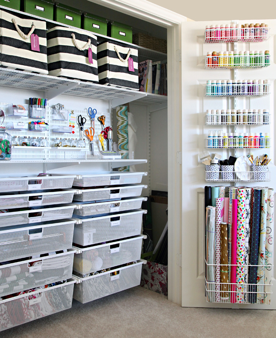 The Ultimate Craft Closet Organization Iheart Organizing