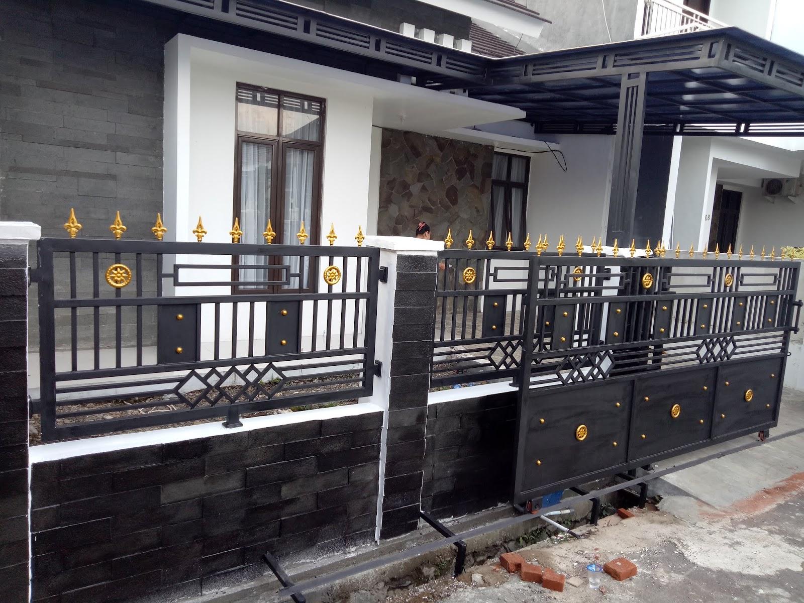 Satu Harga Pagar Minimalis Di Bandung 2020 - BENGKEL LAS BANDUNG