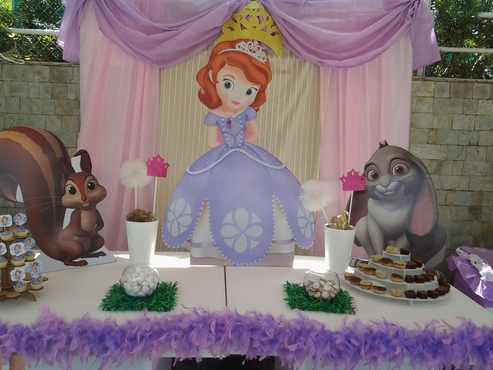 Pkelandia fiesta tem tica de la princesa sof a - Fiestas de cumpleanos de princesas ...