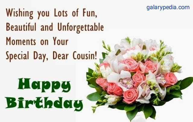 Happy birthday cousin quotes images