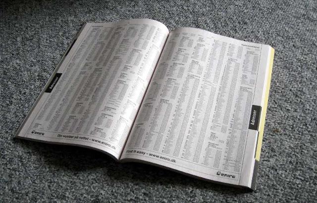 perkembangan buku telepon