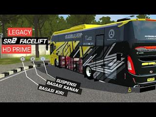 Kumpulan Livery Mod SR2 Facelift Hd Prime Bussid