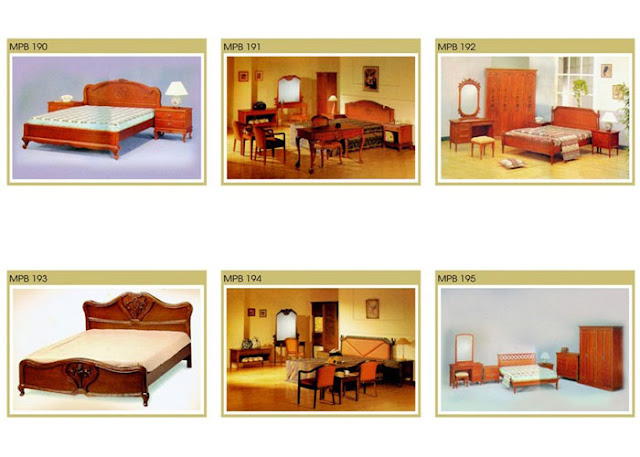 Tempat Tidur Kayu Terbuat Dari Jati