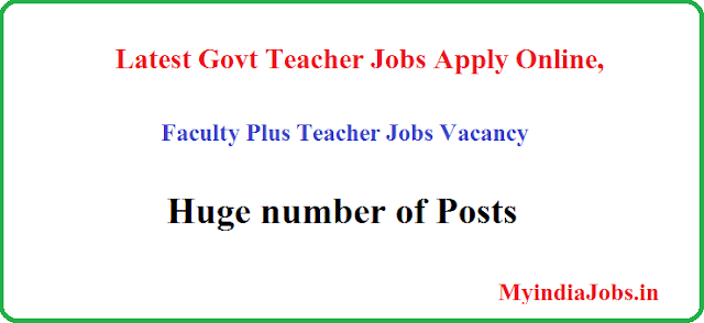 Faculty Plus Teacher Jobs