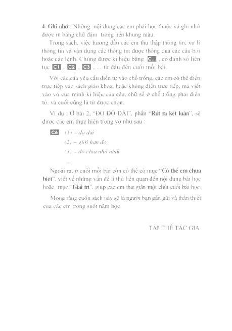 Trang 5 sach Sách Giáo Khoa Vật Lí Lớp 6
