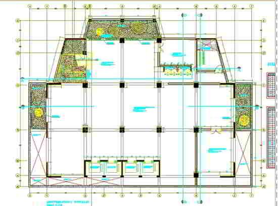 arquitectura cad zapata 15 pisos