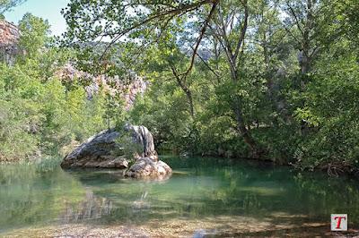 Río Tajo a su paso por Huertapelayo, en la provincia de Guadalajara