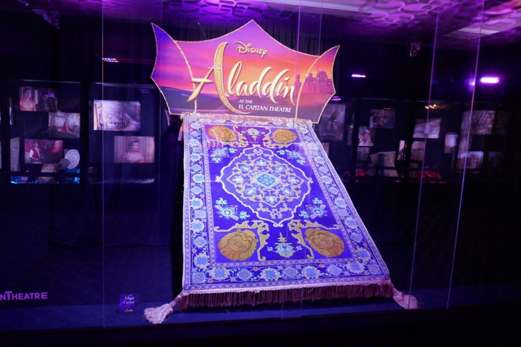 Magic carpet prop Aladdin