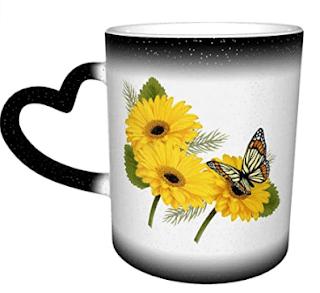 $4.99, TGHJ Coloring Changing Ceramic Coffee Mug w/ Love Handle