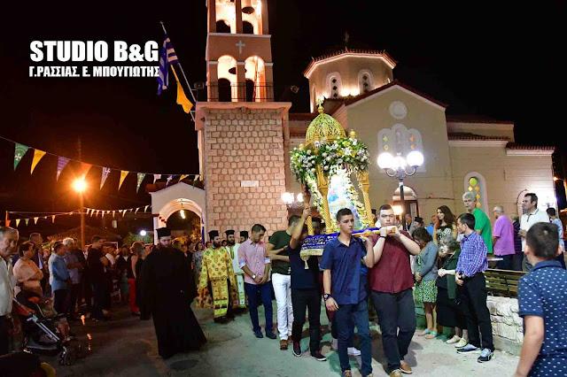 Το Παναρίτι Αργολίδας γιορτάζει το Γενέσιο Της Θεοτόκου (βίντεο)