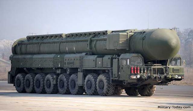 ialah salah satu negara dengan militer terkuat kedua di dunia sesudah  8 RUDAL BALISTIK ANTARBENUA TERBAIK RUSIA
