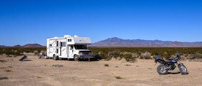 Now in New Mexico, Boondocking north of Truth or Consequences