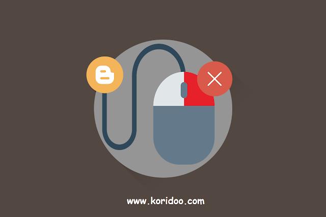 Cara Mematikan Fungsi Klik Kanan Pada Blog dan Website