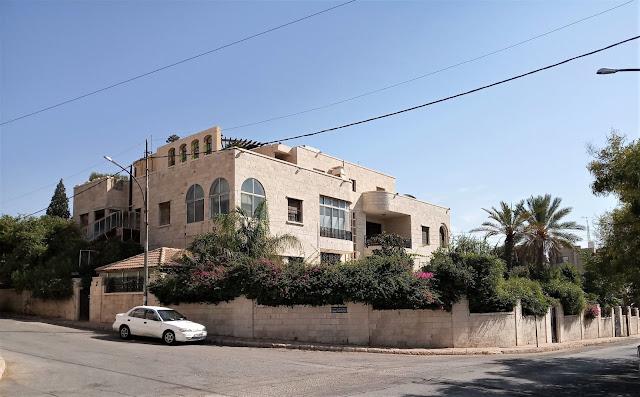 scorcio nel quartiere Jabal Al Lweibdeh