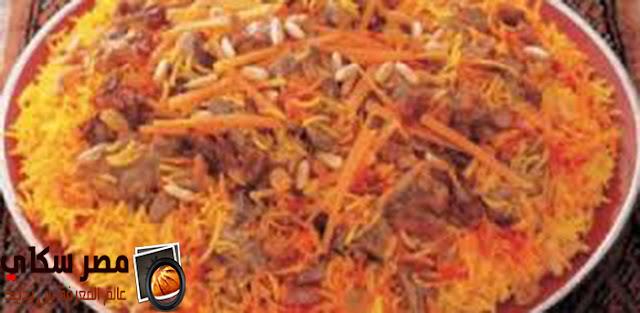 طريقة عمل  الأرز البخارى