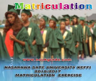 NSUK Matriculation