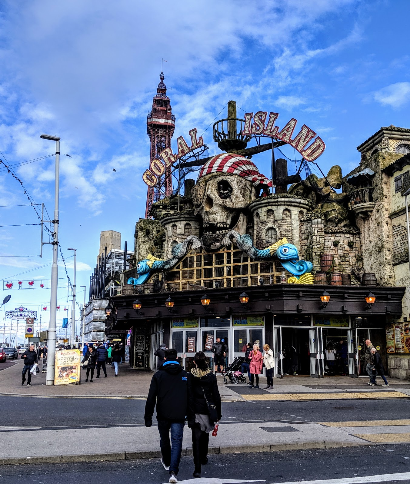 Chester Zoo & Blackpool Tower Bus Trip with National Holidays - A Review Coral Island Blackpool