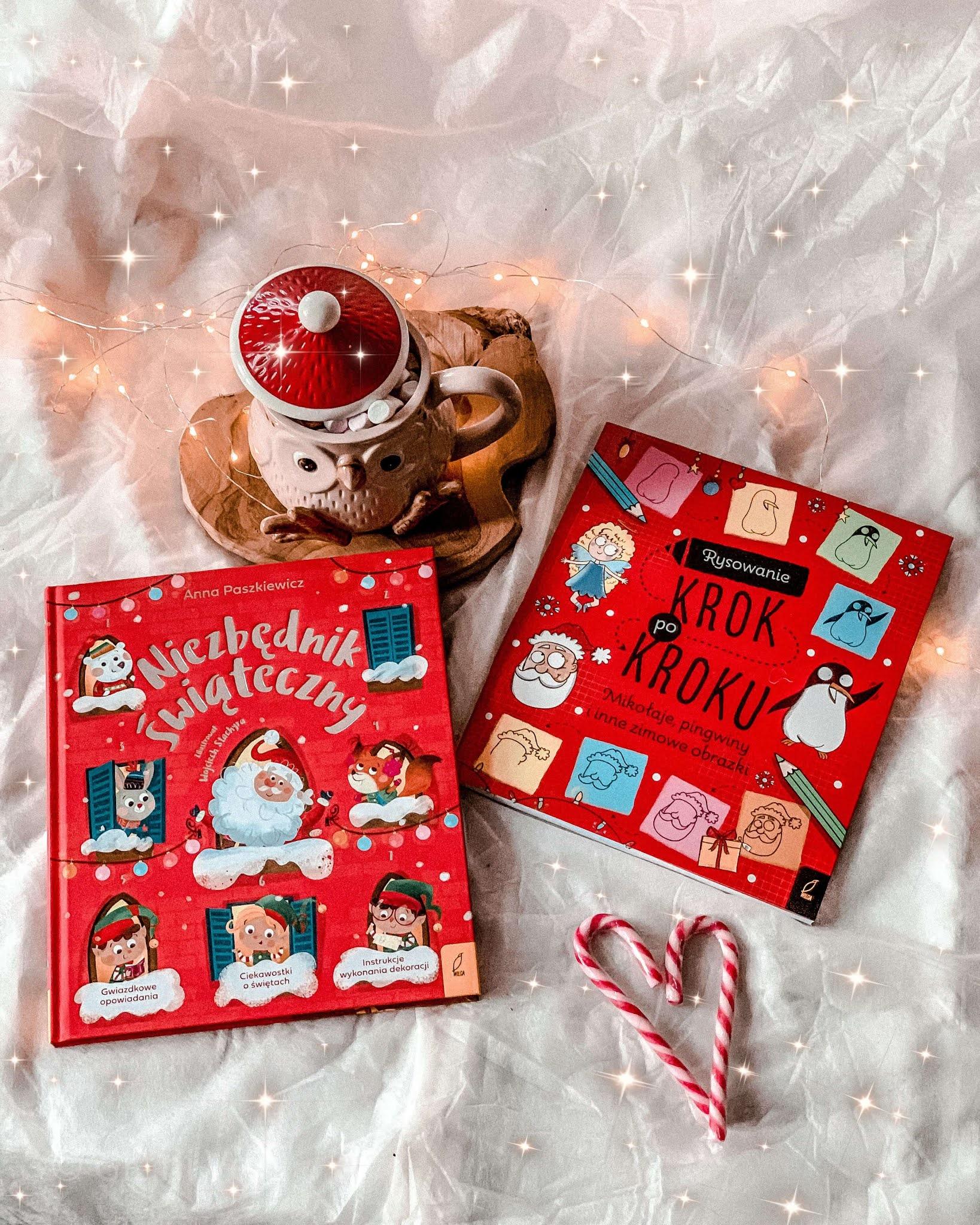 7 Blogmass, Świąteczne książeczki dla dzieci, Niezbędnik świąteczny, Rysowanie krok po kroku