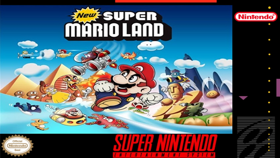 New Super Mario Land SNES ROM SNES