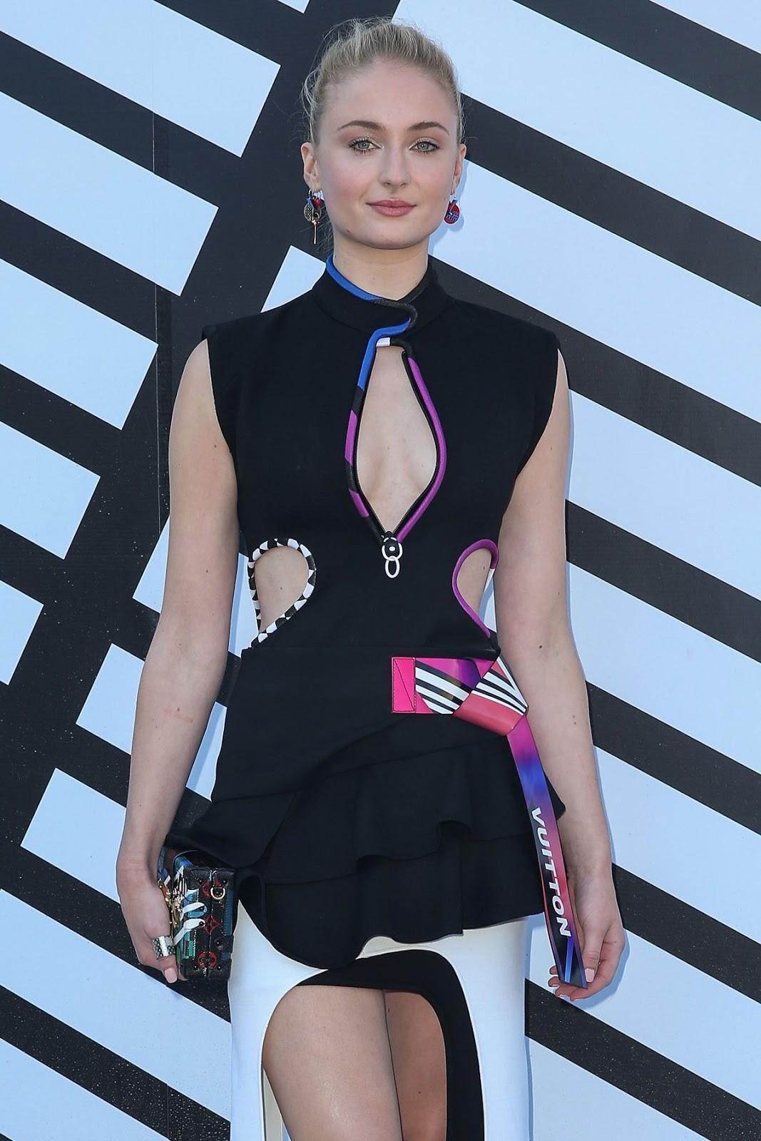 Sophie Turner at Louis Vuitton Fashion Show