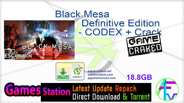 Black Mesa Definitive Edition – CODEX + Crack
