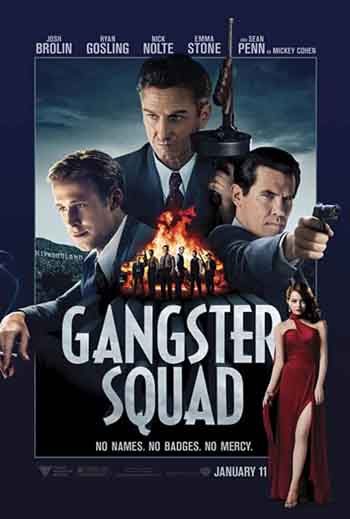 Gangster Squad 2013 480p 300MB BRRip Dual Audio [Hindi - English]