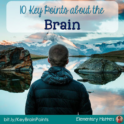 10 Key Points About the Brain: Here are ten key points from my research on brain based learning that have helped me as a teacher in the classroom.