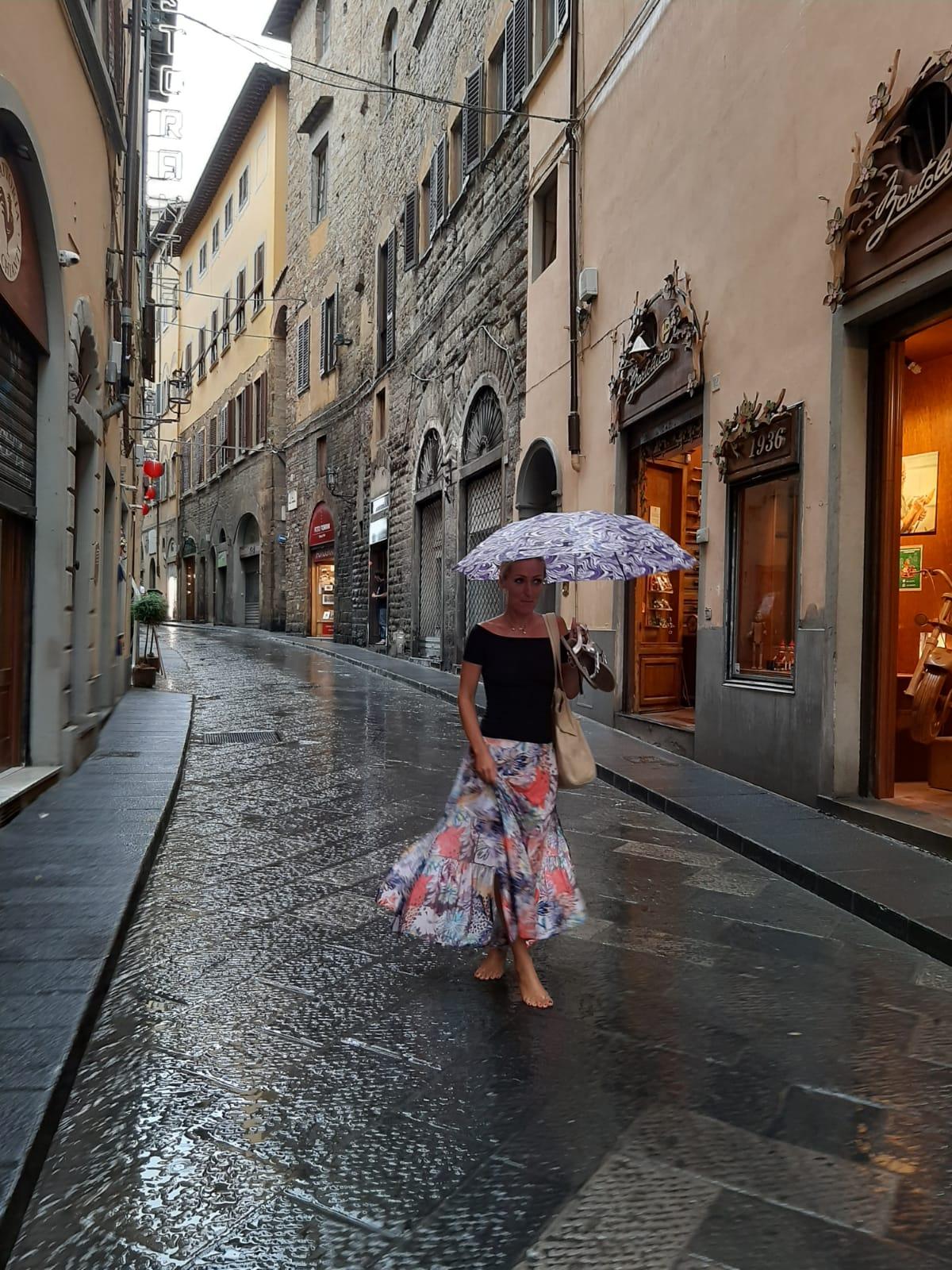 Kasia z Domu z Kamienia, Florencja