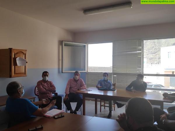 El PP de La Palma se reúne con representantes de la Cofradía de Pescadores de Tazacorte