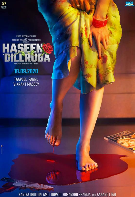 Haseen Dillruba, Crime, Drama, Romance, Mystery, Thriller, Movie Review by Rawlins, Rawlins GLAM, Rawlins Lifestyle, Netflix, Hindi