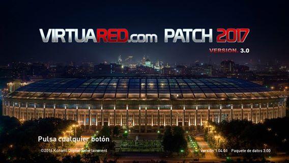 Patch PES 2017 Terbaru dari VirtuaRED V3