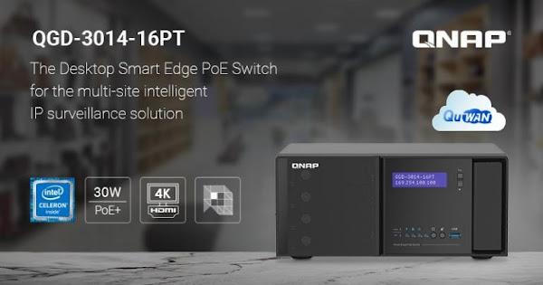 QNAP lança Switch Smart Edge PoE Desktop para vigilância por IP de nova geração