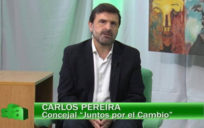 """Carlos Pereira: """"Tenemos un municipio prácticamente parado"""""""